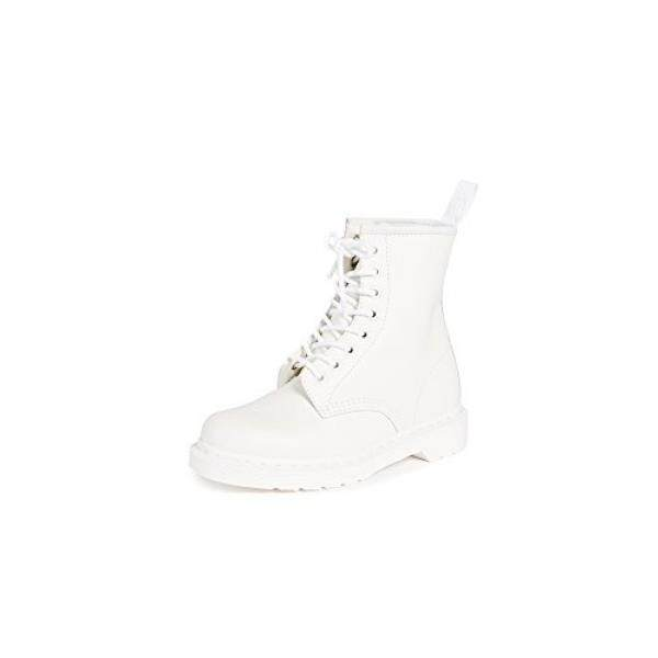 f6ff1fc08 Dr. Martens Unisex 1460 8-Tie Lace-Up Boot,White Smooth,