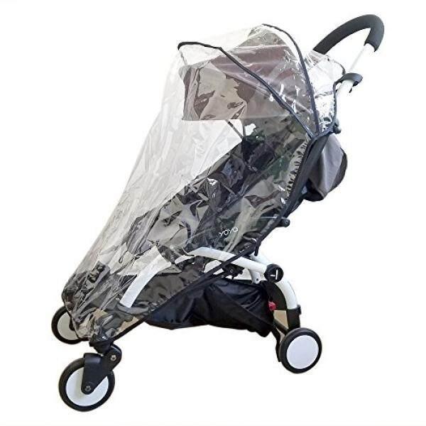 Romirus Perisai Cuaca, Hujan Sarung untuk Babyzen Yoyo Yoyo + Stroller, Anti-Air, Tahan Angin, Lihat, ventilasi, Plastik Bening, Perlindungan, Bayangan, Payung, Pram, Vinil-Internasional