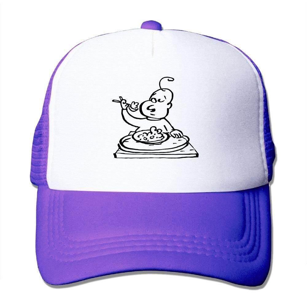 NONGFU Polite Baby Eating Very correctly At Table Big Foam Snapback Hats Mesh Back Adjustable Cap - intl