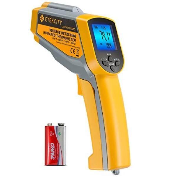 Etekcity Lasergrip1025D Digital Laser Rangkap Termometer Inframerah Suhu Non -Kontak-58℉ ~ 1022