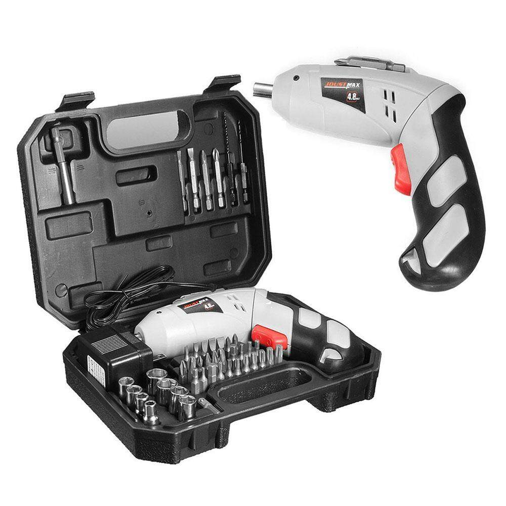 boyun Non-slip Electric Drill Bits Screwdriver Cordless Rechargeable Kit Set (US PLUG) - intl