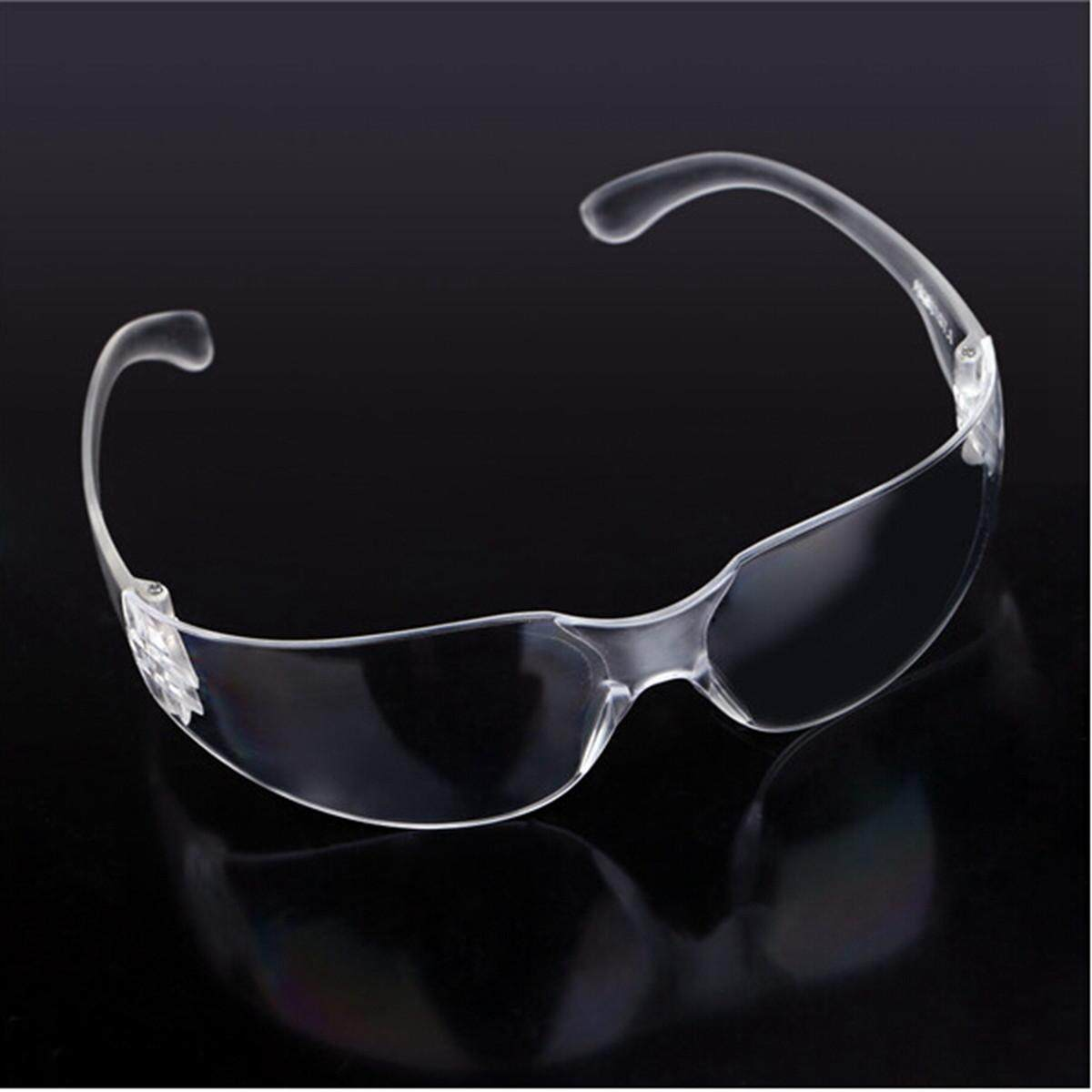 7pcs Lucency Safety Eye Protection Goggles Glasses for Workplace Lab Industrial Dust - intl