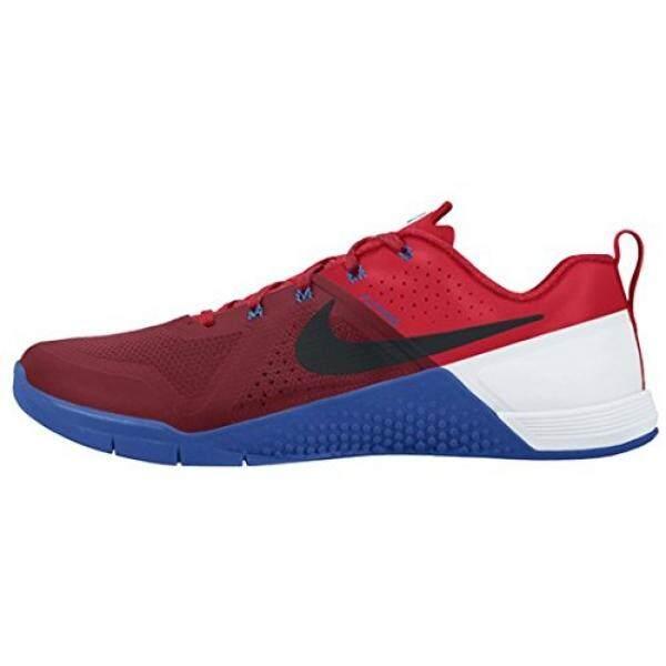 Nike METCON 1 SZ 12.5 Pria Silang Merah Baru Di Kotak-Internasional