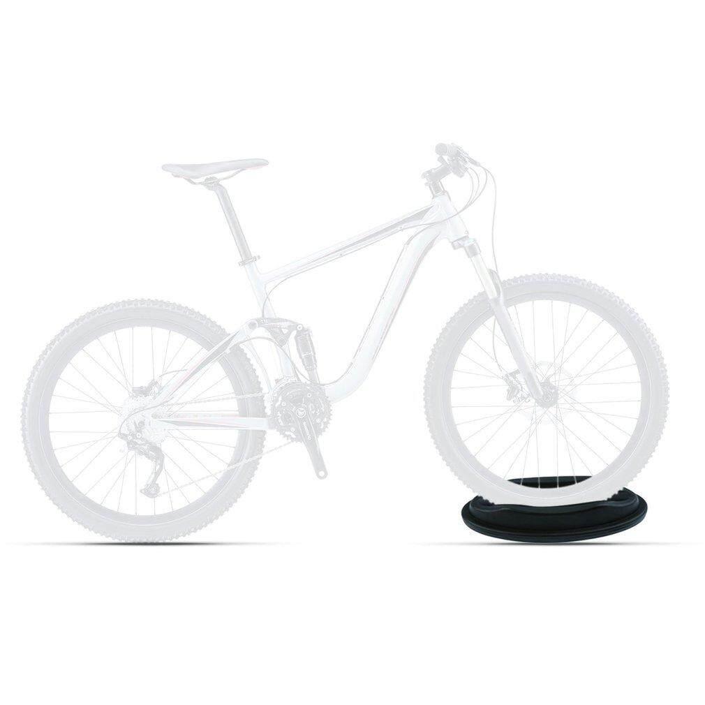 Cozy Single Rak Sepeda Sepeda Gunung Floor Stand Penahan Roda Parkir Portable
