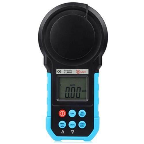 BSIDE ELM02 DIGITAL LCD LUX / FC METER LIGHT ILLUMINANCE TESTER AUTO RANGE ( 20 - 200000LUX ) (BLUE)