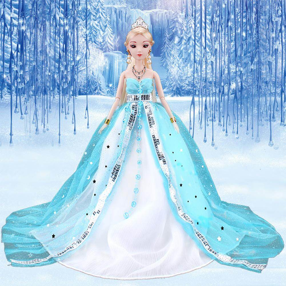 Womens Costumes For Sale Girls Online Brands Prices Katalog Berbie Baju Princess Wedding Dress Party Gown Ice Barbie Doll Outfit Best Gift