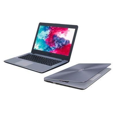 ASUS A480UR8250 Notebook 14 inch Windows 10 Pro Intel i5-8250U Quad Core 1.6GHz 4GB RAM 500GB HDD HDMI Front Camera Type-C (LIGHT SLATE GRAY)