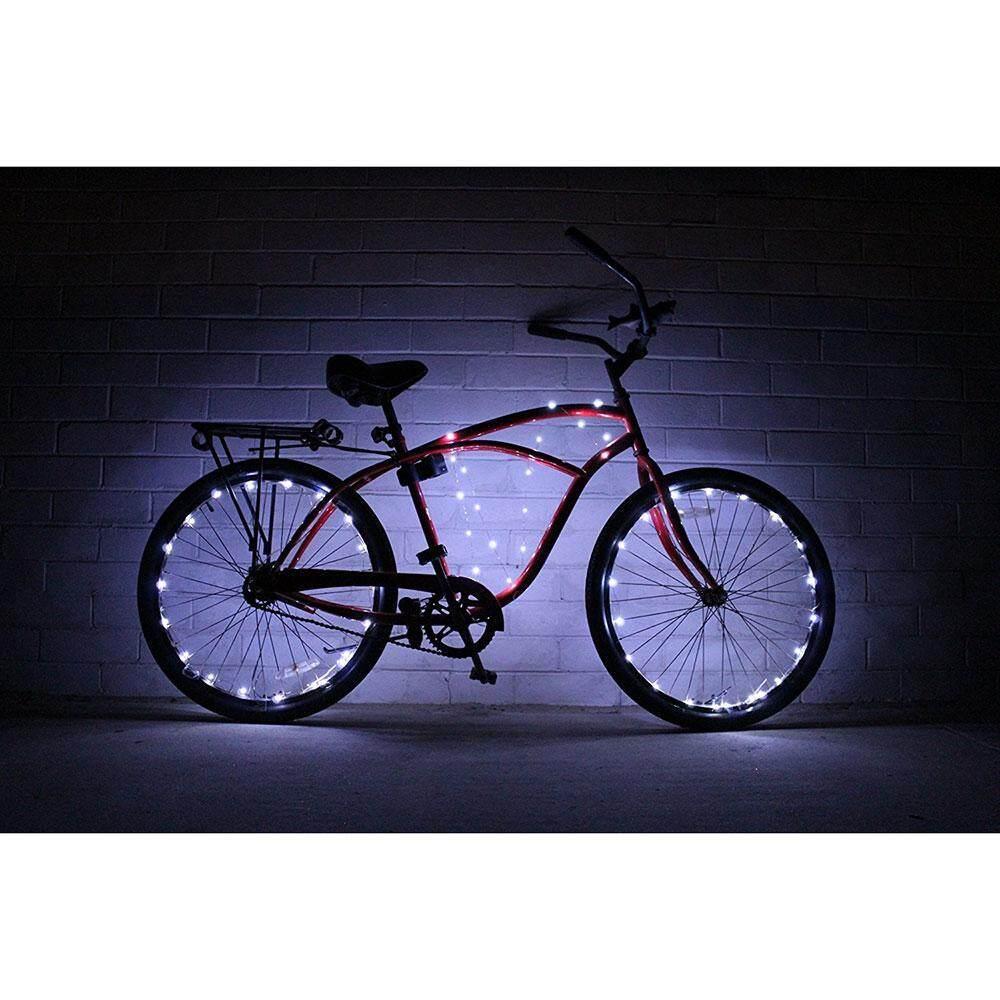 Nonof Super Sepeda Keren Lampu Roda S 20 LED Roda Sepeda Barisan Lampu (1 Pack) berbagai Macam Warna Ban Sepeda Aksesoris-Intl
