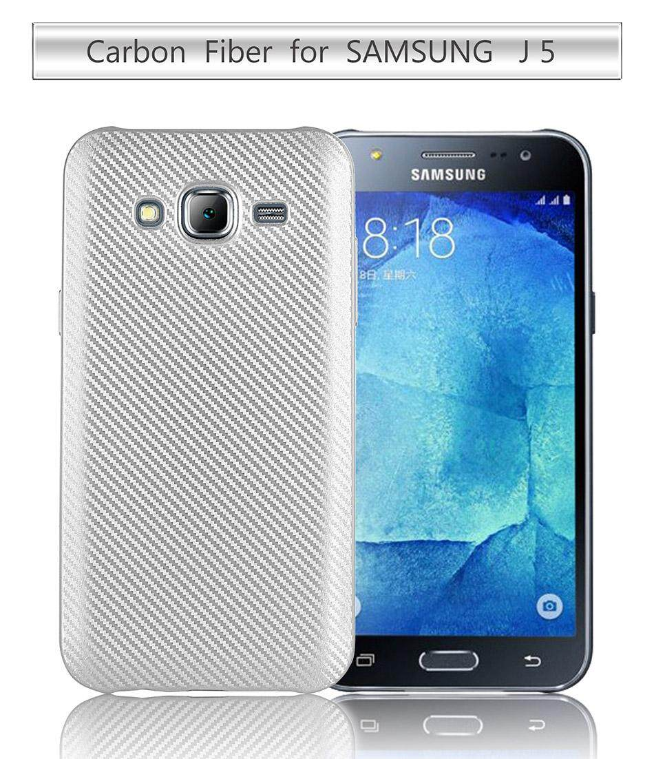 AKABEILA Carbon Fibre TPU Phone Cases For Samsung Galaxy J5 2015 J500F J500F/DS J500G/DS J500Y J500M J500M/DS J500H/DS SM-J500F YC955 j500 J500H J5008 J5000 5.0 inch Covers Back Soft Silicone Smartphone Case Ventilate Anti-skidding Mobile Shell - intl