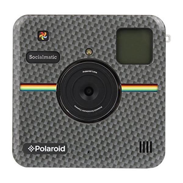 Polaroid Kustom Depan Piring Depan untuk Polaroid Socialmatic-Berkilau Karbon Serat Melihat-Internasional