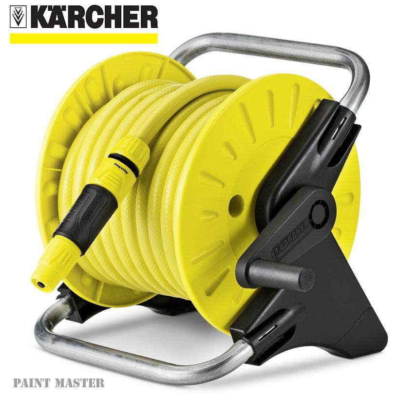 karcher promo hr25 15m 1 2in garden hose reel with hose 2. Black Bedroom Furniture Sets. Home Design Ideas