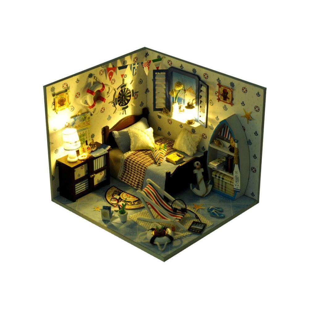 where to buy miniature furniture. Ooplm Miniature DIY Wooden Dollhouse Mini Creative Room With Furniture, Accessories Kits Gift Idea For Where To Buy Furniture