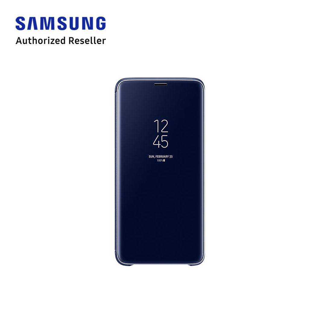 Features Samsung Galaxy S9 Clear View Standing Cover Dan Harga