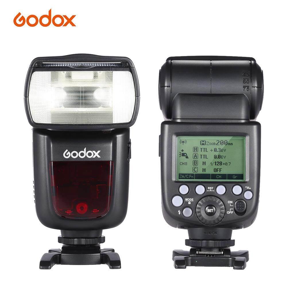 GODOX V860II-C E-TTL 1/8000 S HSS Master Slave GN60 Speedlite Flash Built-In 2.4G Nirkabel X Sistem 2000 MAh Isi Ulang untuk Canon 1DX/5D Mark III/5D Mark II/6D/7D/60D /50D/40D/30D/650D/600D-Intl