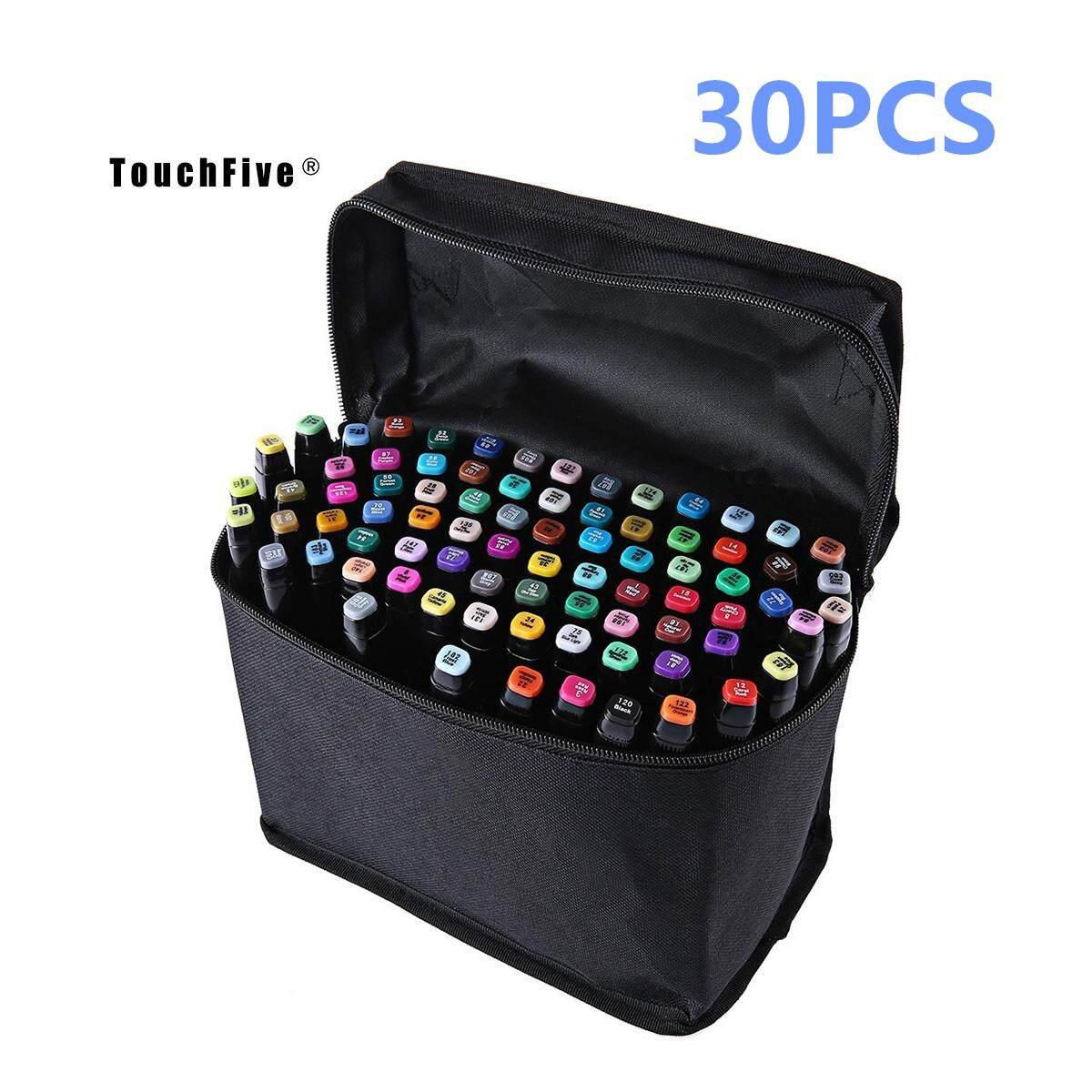 Mua YBC TouchFive Twin Tip Pen Marker Students Graphic Art Color Design 80/60/40/30 Colors