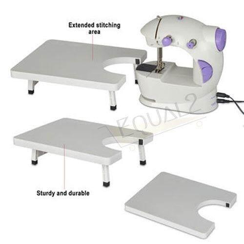 Detail Gambar Mini Dual Speed Portable Sewing Machine + Sewing Expansion Board Mesin Jahit Terbaru