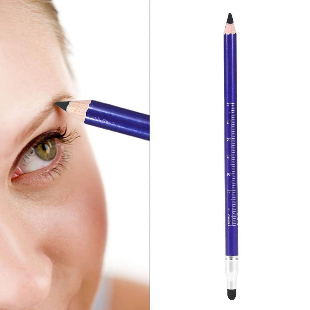 Fitur Semi Permanent Microblading Tatto Tool Positioning Double Head Lt Pro Eyeliner Pencil Waterproof Eye Liner Brow Black