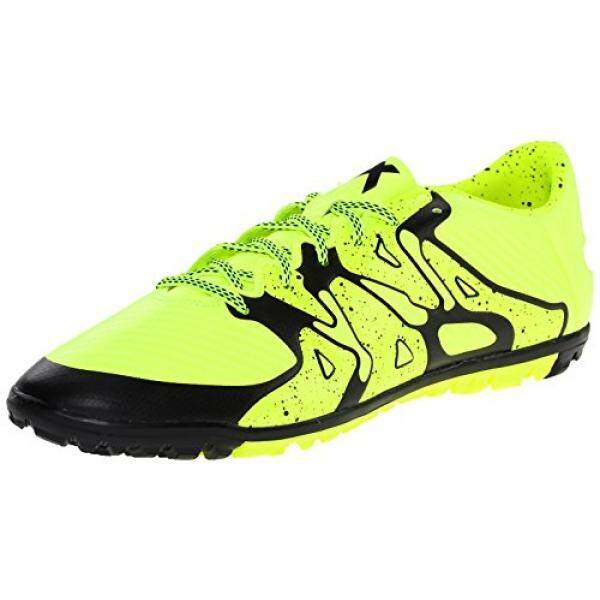 adidas Performance Mens X 15.3 TF Soccer Shoe,Solar Yellow/Core Black/Frozen Yellow F15, US - intl