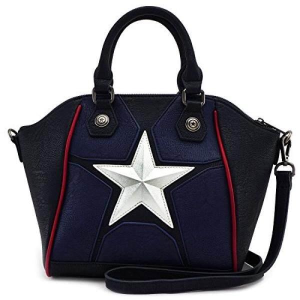 Loungefly Marvel Captain America Crossbody Bag - intl