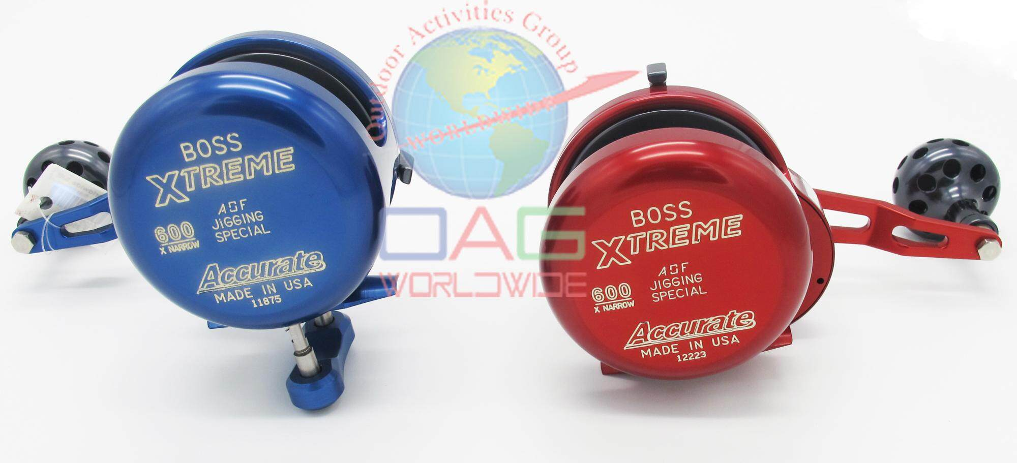 Boss Xtreme Jigging Special-BXJ-600XNN(Blue) & BXJ-600XXNN(Red)
