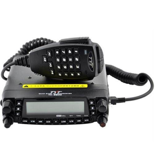 TYT TH-9800 HF / VHF / UHF WALKIE TALKIE WITH 800 CHANNEL (BLACK)