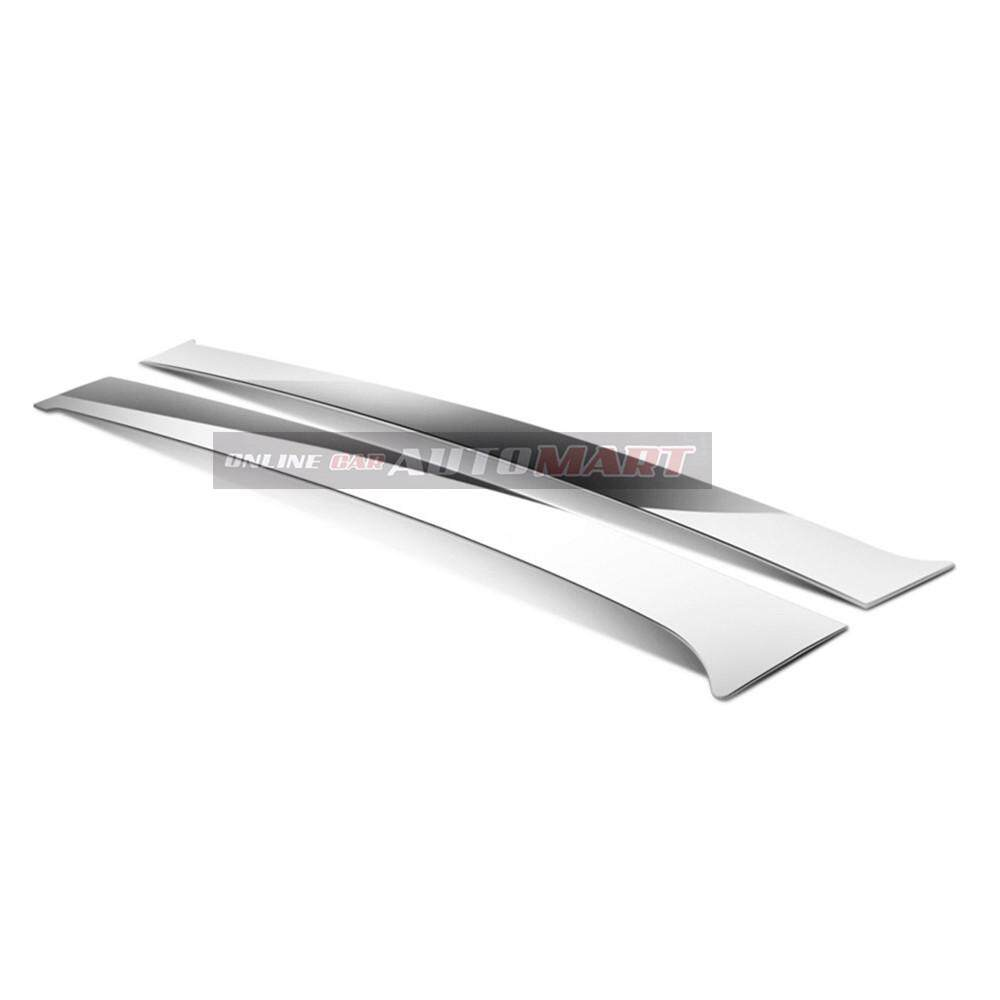 Toyota Altis Yr 2001-2007- Car Chrome Door Window Pillar Trim Panel Chrome Stainless Steel (1 Set)