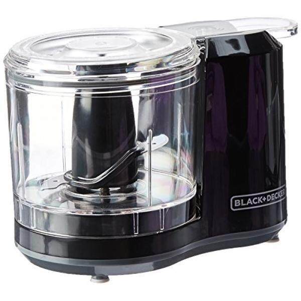 BLACK+DECKER 1.5-Cup Electric Food Chopper Improved Assembly Black HC150B