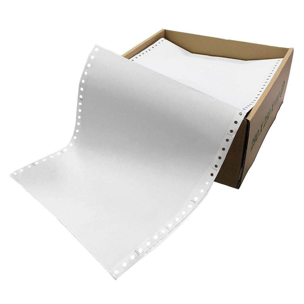 Computer Form 9.5IN x 11IN 1 Ply NCR 1000 Fans