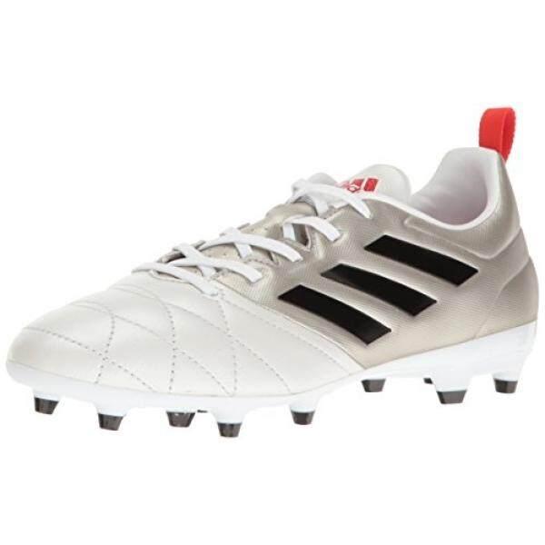 adidas Performance Womens Ace 17.3 FG w Soccer Shoe, Platino Black/Core Red S, US - intl