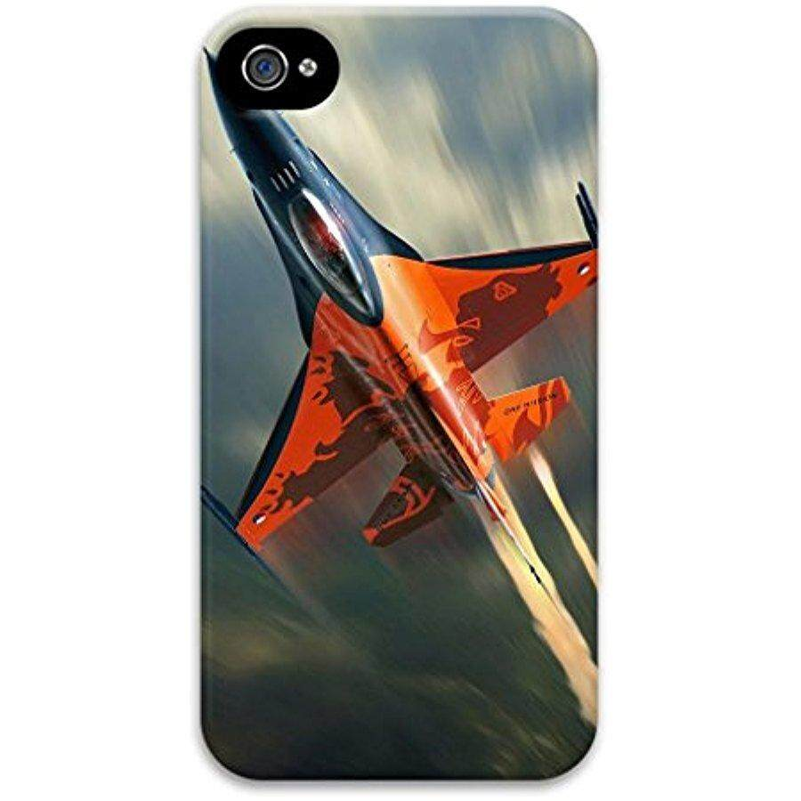 Cute DIY Image with RET Avion Thin & Lightweight Stylish thin Hard PC Case 3D Image For iPhone 4 - intl