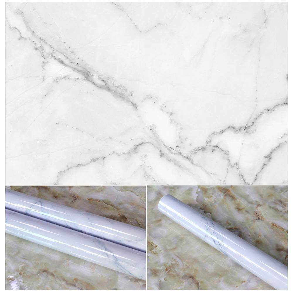 yiokmty 10 Colors Granite Look Marble Effect Contact Paper Film Vinyl Self Adhesive Peel-stick Counter Top Decoration For Kitchen Counter,Closet,Bathroom Wall Sticker - intl