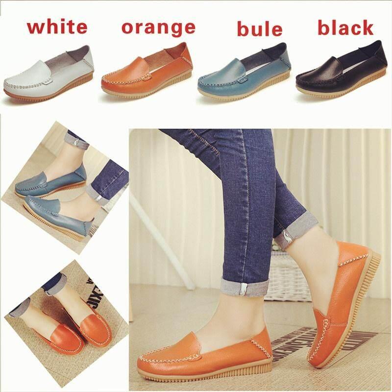 2016 Musim Gugur Baru Kacang Polong Sepatu Wanita Datar Sepatu With Sepatu Kasual untuk Wanita, China Hamil Anda Mendorong Sepatu Ibu sepatu-Internasional