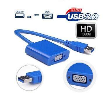 USB 3.0 to VGA Female Video Converter Adapter Cable