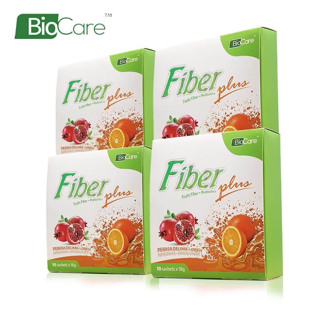 Biocare Fruits Fiber Plus X4 box 18g (Detox)