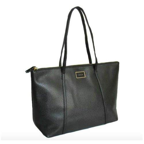 Bag Society Mng Premium Simple Work Tote Per Laptop Black