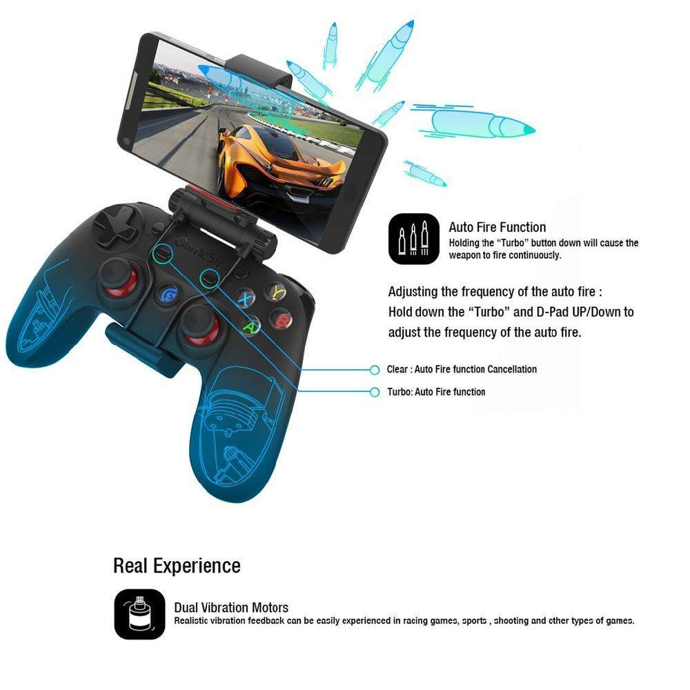 New Gamesir G3s Wireless Bluetooth Joystick Controller for Android PC PS - intl