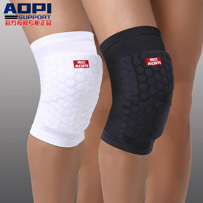 AOPI Brand Basketball Knee Pads Compression Socks Knee Wraps Elbow Brace Support Lap Knee Pad for