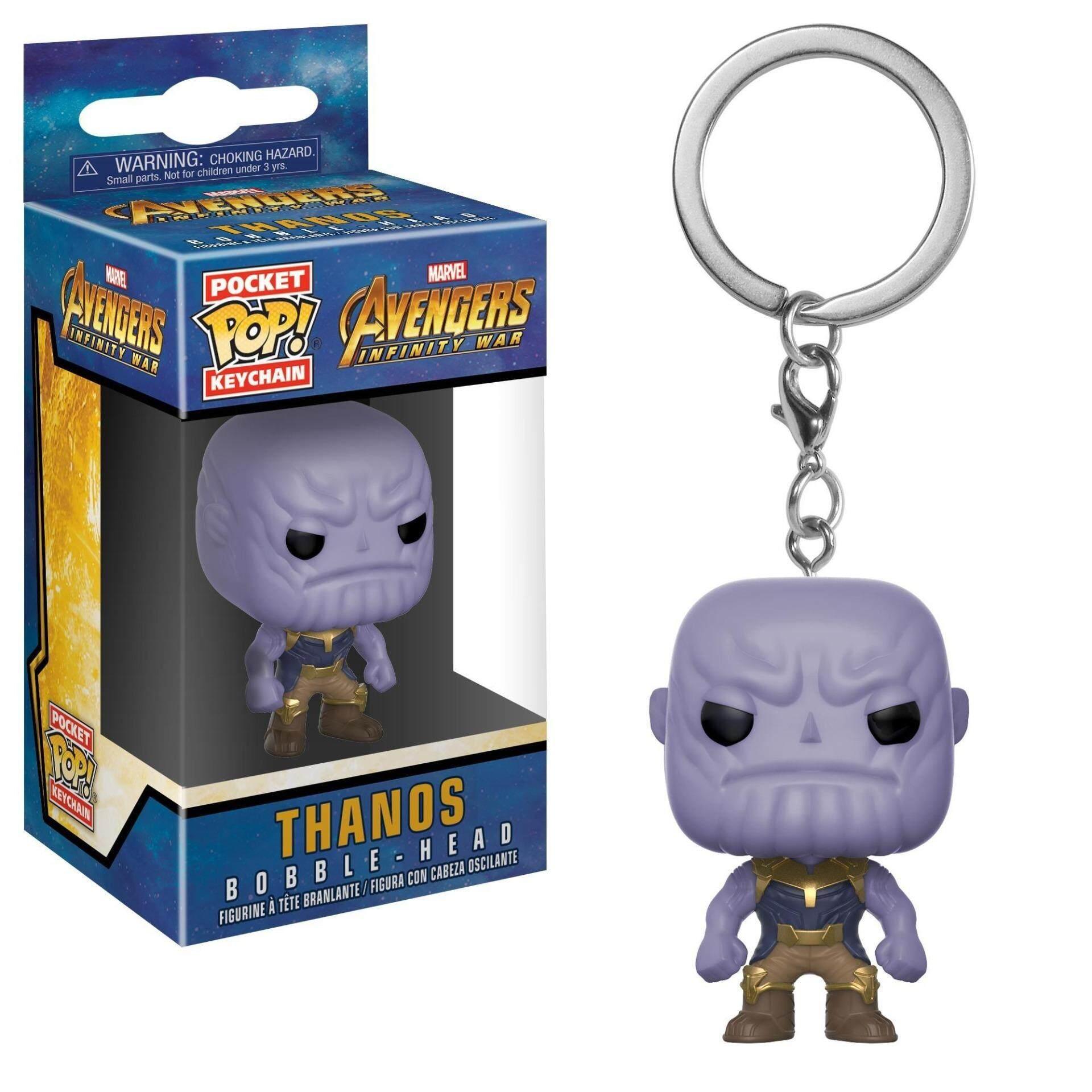 FUNKO POP! Keychain Marvel Avengers Infinity War Figure - Thanos Toys for boys