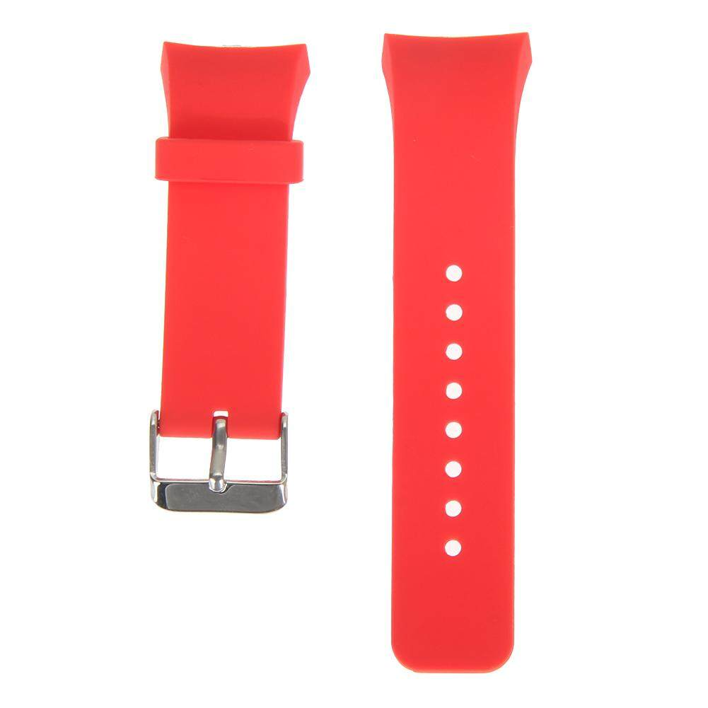 VAKIND Silicone Watch Band Strap for Samsung Galaxy Gear S2 SM-R720 (RoseRed)