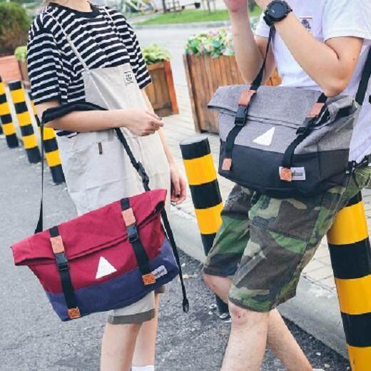 [PRE-ORDER] Couple's Men's Women's Canvas Shoulder Travel Bag