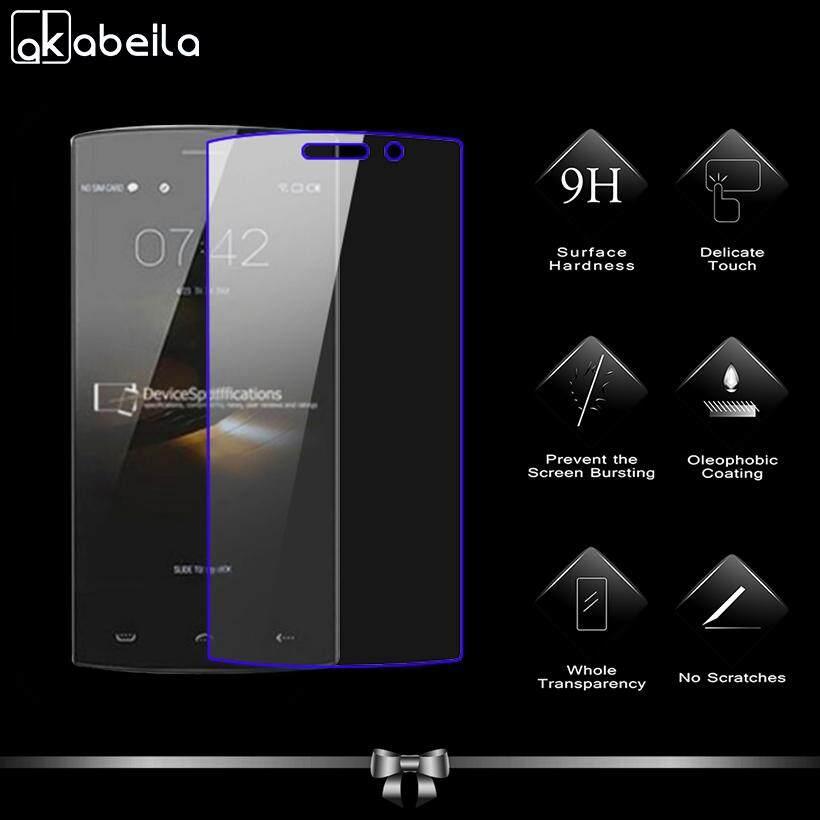 Akabeila 2 Pcs untuk Doogee Homtom HT7 HT7 PRO 5.5 Inch Tinggi Quaity Kaca Antigores Smartphone Pelindung Layar Film