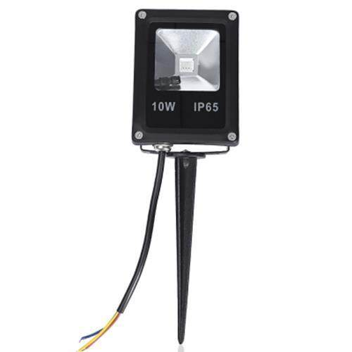 WATERPROOF LED FLOOD LIGHT WITH REMOTE CONTROLLER (BLACK)