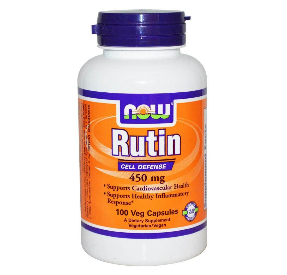 RUTIN 450mg 100 Vegetarian Capsules