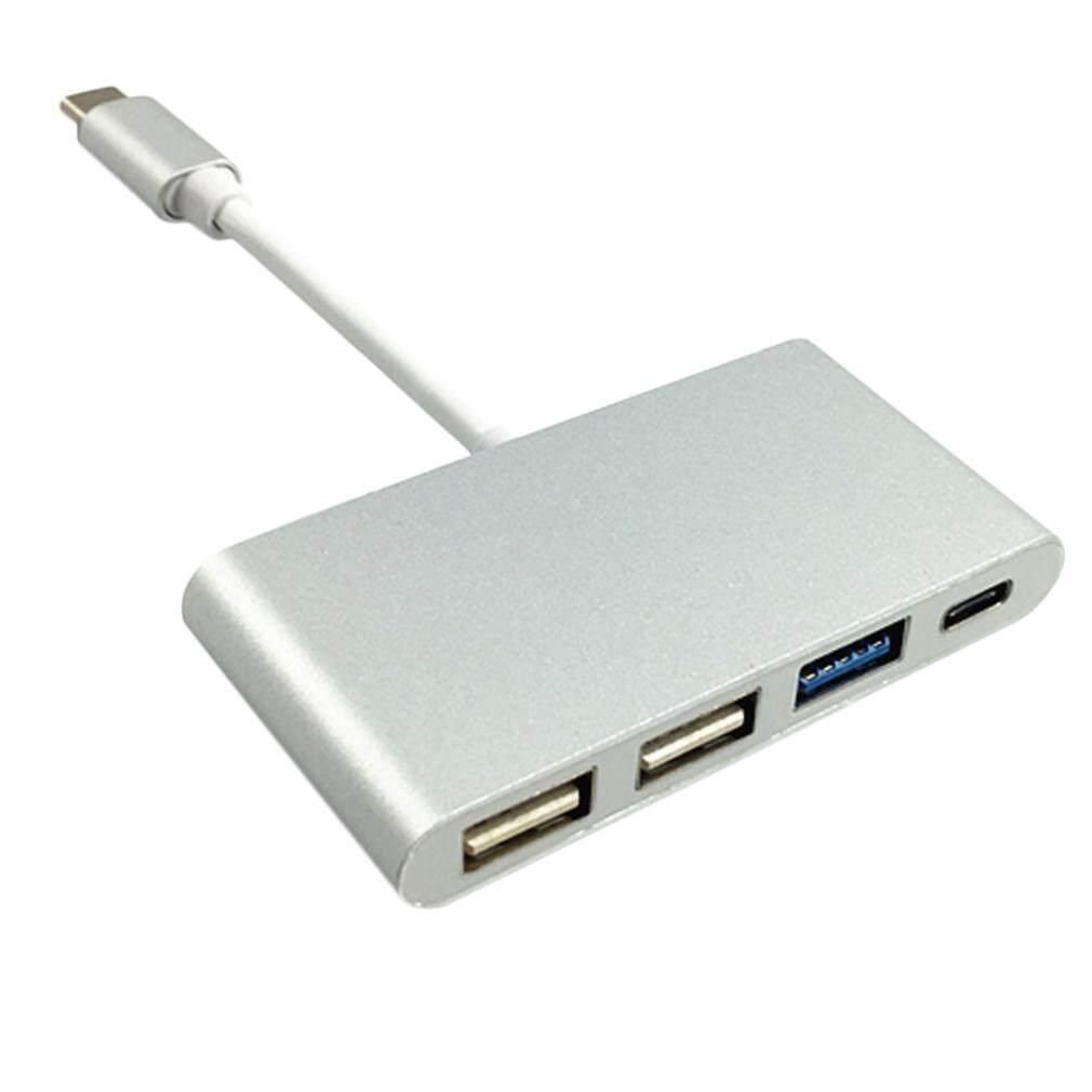 Portabel YANG BAGUS USB-C/Tipe C USB 3.1 untuk USB Tipe C & 3-Port USB 3.0 HUB Adaptor -Internasional