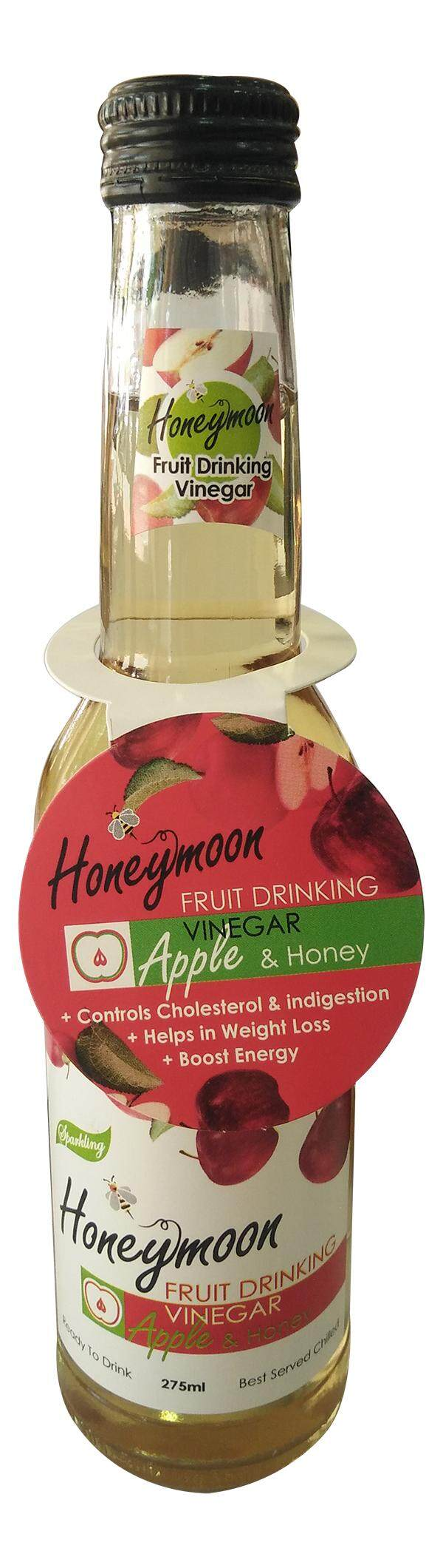 Sparkling Fruit Drinking Vinegar Apple & Honey Flav 275ml