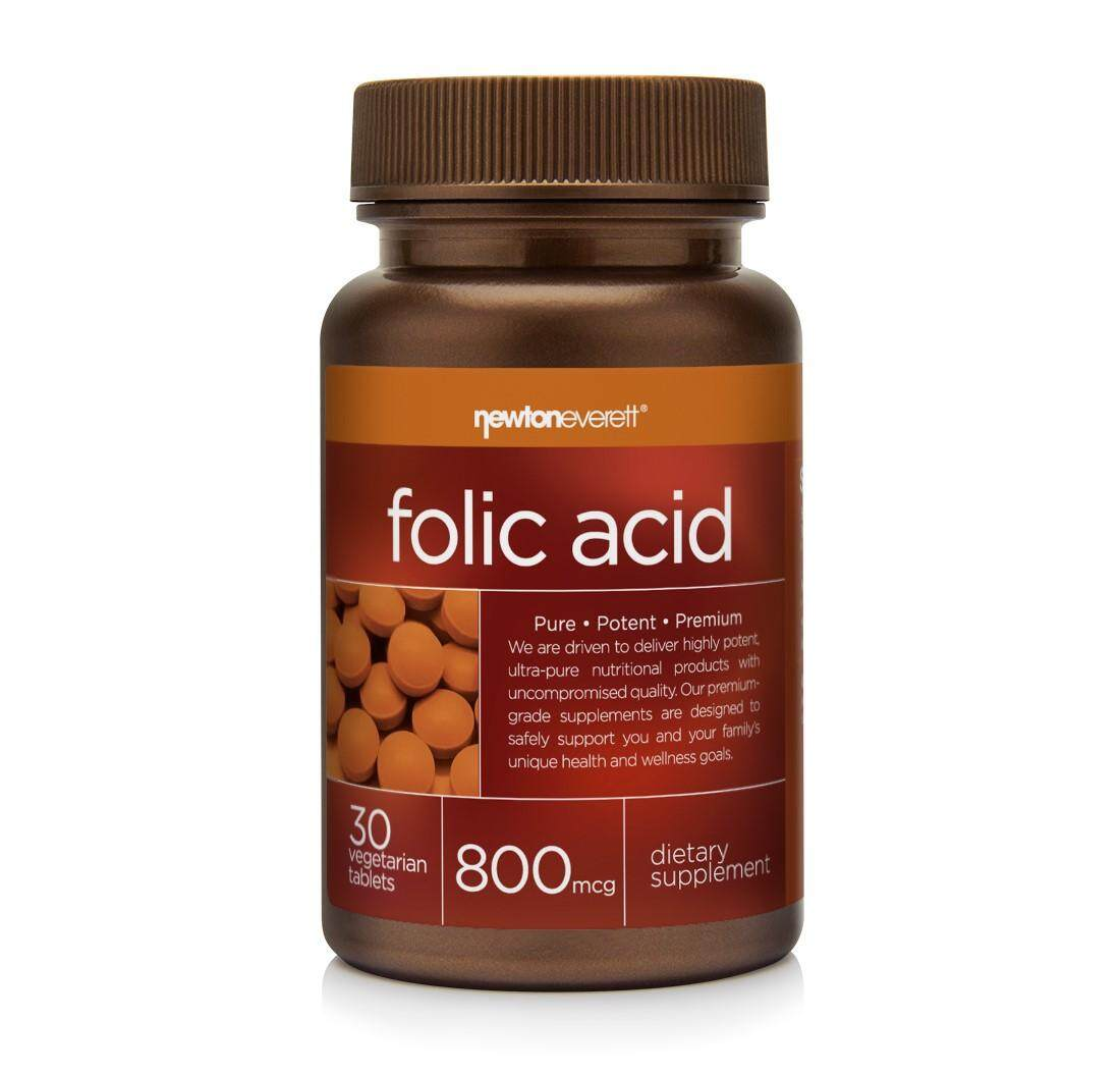 FOLIC ACID 800mcg 30 Tablets