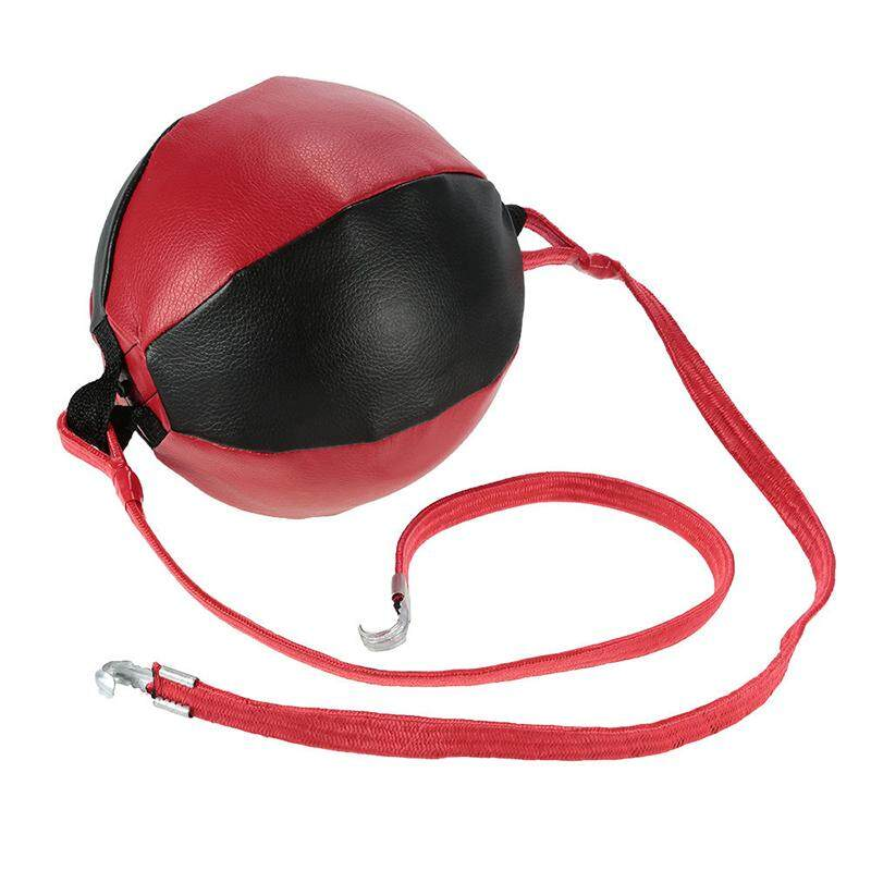Double End Punching Speed Ball Striking PU Leather MMA Boxing Training - intl