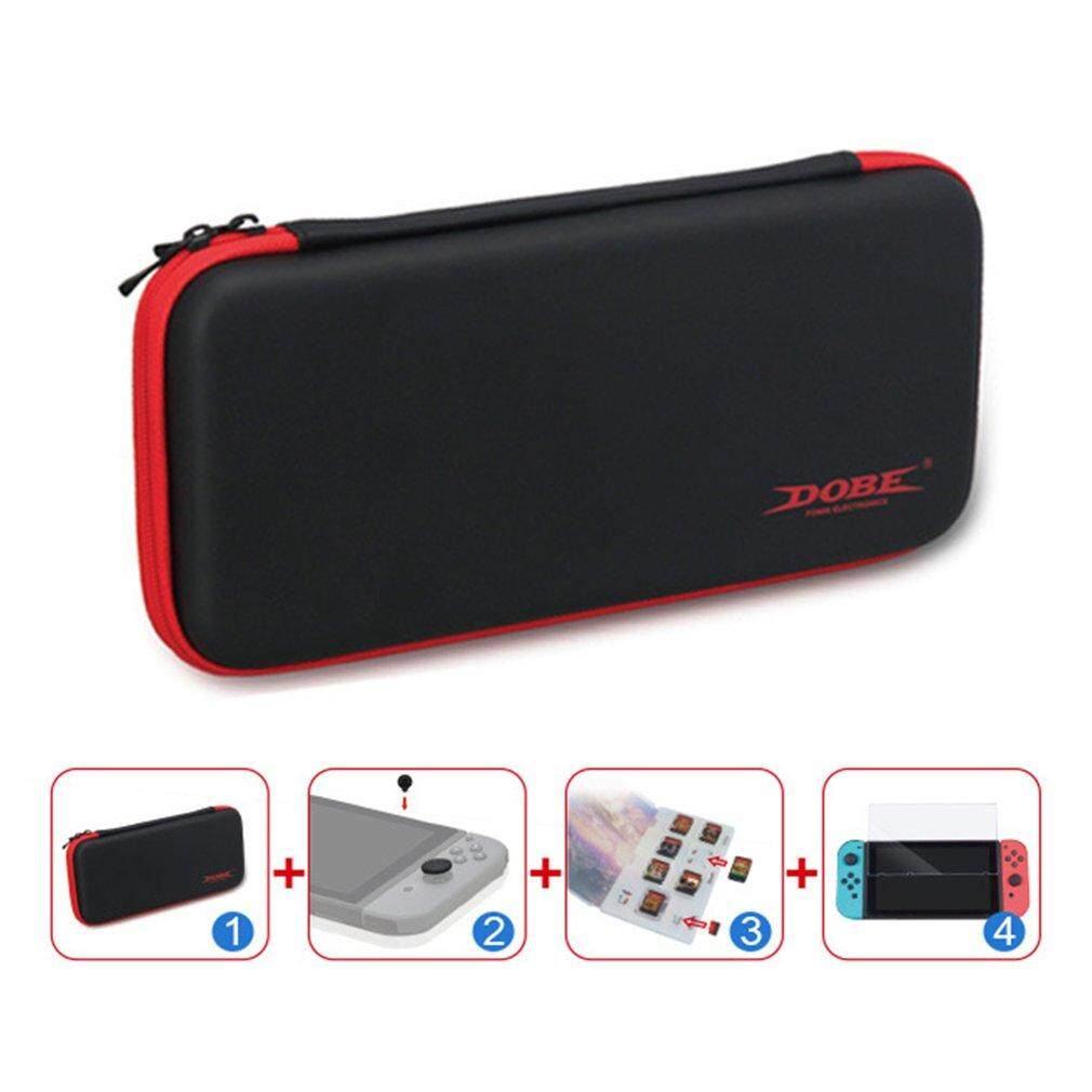 Buy Cheap Protective Kit Eva Case Tempered Glass Protector Kit For Nintendo Switch