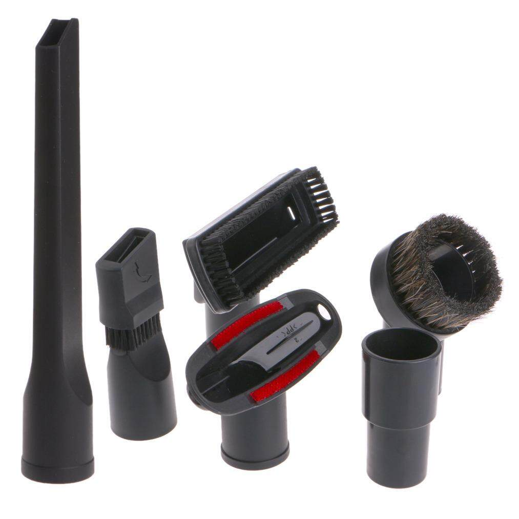 6 In 1 Vacuum Cleaner Brush Nozzle 32mm 35mm Home Dusting Crevice Stair Tool Kit - intl