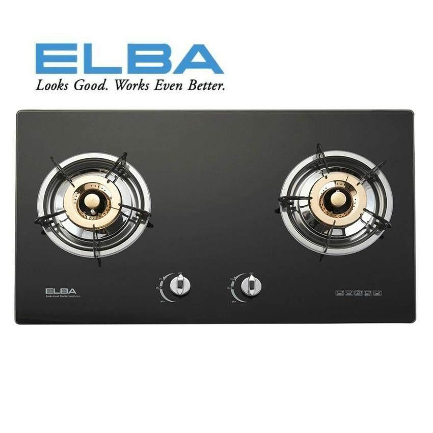 Elba 2 Burners Gl Hob Egh 8022 Bk